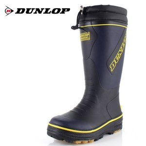 DUNLOP MOTORSPORT ダンロップモータースポーツ 靴 ドルマンG324 BG324 長靴 軽量 防滑 雨 雪 紺 ネイビー メンズ|washington