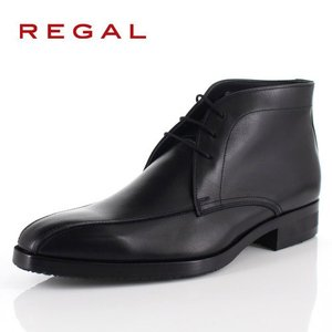 リーガル REGAL 靴 メンズ ブーツ 48RR BEP ブラック チャッカブーツ 外羽根式 スワールトゥ 日本製 3E 本革 GORE-TEX 防水 特典B washington