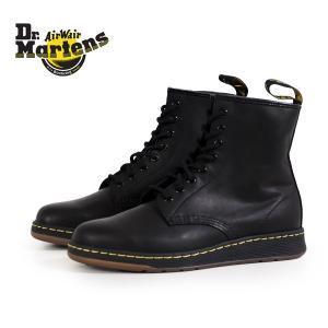 ドクターマーチン Dr.Martens 21856001 ニュートン NEWTON 8ホール ブラック 黒 ブーツ メンズ|washington