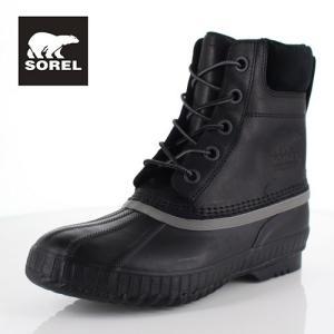 ソレル SOREL NM2575 010 メンズ ブーツ シャイアン ll Cheyanne ll ブラック 防水 保湿性 防寒 防滑 ハイカット|washington