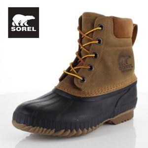 ソレル SOREL NM2575 224 メンズ ブーツ シャイアン ll Cheyanne ll ブラウン 防水 保湿性 防寒 防滑 ハイカット|washington