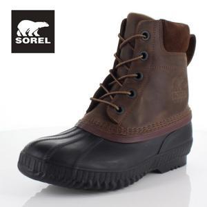 ソレル SOREL NM2575 259 メンズ ブーツ シャイアン ll Cheyanne ll ダークブラウン 防水 保湿性 防寒 防滑 ハイカット|washington