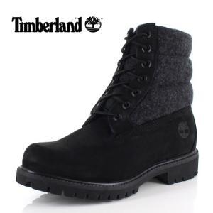 ティンバーランド Timberland メンズ ブーツ シックスインチ プレミアム パファーブーツ A1ZR6 16 ブラック 靴 防寒 セール|washington
