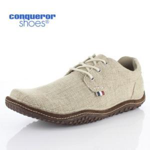 コンカラー シューズ クレスト ロー 372 HEMP conqueror CREST LOW メンズ スニーカー 靴 ベージュ washington
