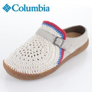 コロンビア メンズ レディース サンダル チャドウィック YU0255-120 ホワイト 手編み|washington