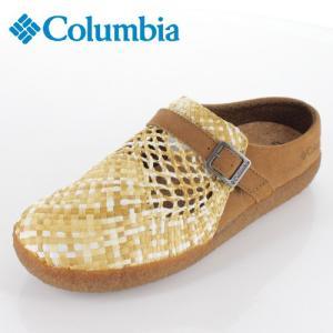 コロンビア メンズ レディース サンダル チャドウィック YU0255-286 ベージュ 手編み|washington