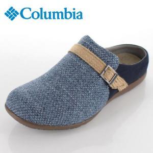 コロンビア メンズ サンダル ピトックスライド YU0270-340 ブルー 軽量 クッション性|washington