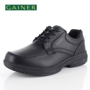 メンズ ウォーキングシューズ ゲイナー 023 GAINER GN023 ブラック 4E 靴 紳士靴 防水|washington