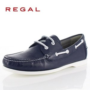 リーガル 靴 メンズ REGAL 55TRAF ネイビー カジュアルシューズ デッキシューズ 2E 本革 紳士靴 特典B washington