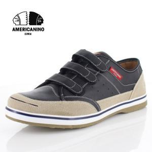 スニーカー メンズ アメリカニーノ エドウィン AMERICANINO EDWIN AE871 ブラック カジュアルシューズ 軽量 靴 ベルクロ|washington