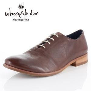 メンズ カジュアルシューズ フープディドゥ whoop-de-doo 308204 ダークブラウン ラウンドトゥ 内羽根式 靴 本革|washington