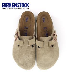 ビルケンシュトック BIRKENSTOCK ボストン レディース メンズ BOSTON BS 0660461 幅広 サンダル スエード トープ ベージュ 国内正規品|washington