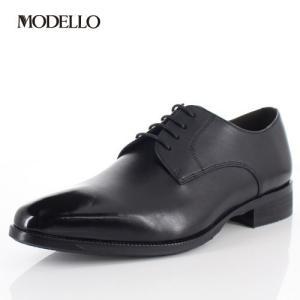 マドラス モデロ madras MODELLO DM5122 BLA メンズ フォーマル ビジネスシューズ プレーントゥ 外羽根式 革靴 3Eブラック|washington