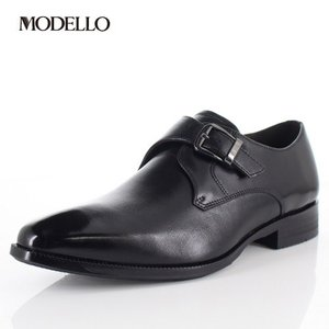 マドラス モデロ madras MODELLO DM5123 BLA メンズ フォーマル ビジネスシューズ モンクストラップ 革靴 3Eブラック|washington