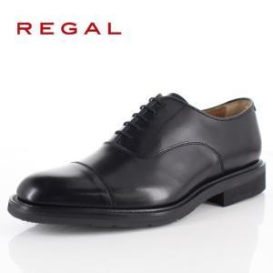 リーガル 靴 メンズ REGAL 11TRBH ブラック ビジネスシューズ ストレートチップ 2E 本革 紳士靴 内羽根式 日本製 特典B|washington