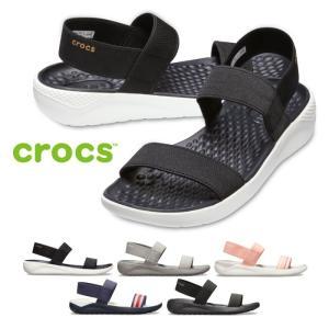 クロックス ライトライド サンダル レディース crocs Women's LiteRide Sandal 205106 スポーツサンダル シャワーサンダル|washington