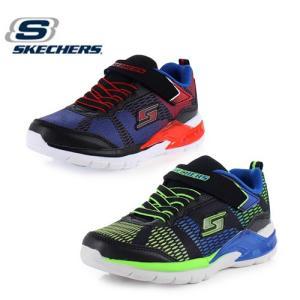 キッズ スニーカー スケッチャーズ SKECHERS ERUPTERS 2-LAVA WAVES 90553L-BBLM BKRB BL1L B515 ボーイズ 光る靴 ブラック ネイビー|washington