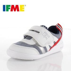 スニーカー イフミー ベビー IFME Light シューズ 22-9002 WHITE キッズ 子供靴 ホワイト ベルト ベルクロ 軽量|washington