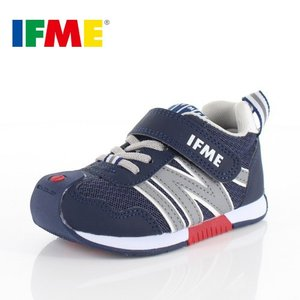 IFME イフミー 子供靴 スニーカー キッズ 30-9008 BASIC NAVY 通園 通学 運動靴 ネイビー|washington