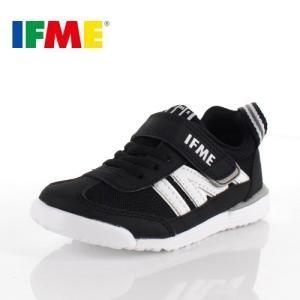 スニーカー イフミー キッズ IFME Light シューズ 22-9009 BLACK ブラック ジュニア 子供靴 ベルクロ 軽量|washington