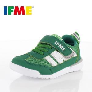 IFME イフミー 子供靴 スニーカー キッズ 30-9009 IFME Light GREEN 通園 通学 運動靴 超軽量 グリーン|washington