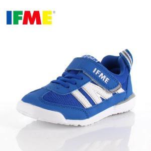 スニーカー イフミー キッズ IFME Light シューズ 22-9009 BLUE ブルー ジュニア 子供靴 ベルクロ 軽量|washington