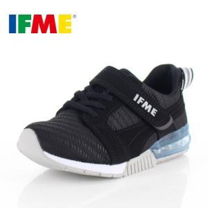 IFME イフミー 子供靴 スニーカー キッズ 30-9017 SEASON TREND BLACK 通園 通学 運動靴 ブラック|washington