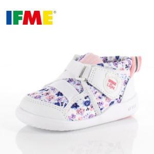 スニーカー イフミー ベビー IFME Light シューズ 22-9004 WHITE キッズ 子供靴 ホワイト ベルト ベルクロ 軽量|washington