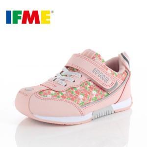 スニーカー イフミー キッズ IFME BASIC シューズ 30-9014 PINK ピンク ジュニア 子供靴 ベルクロ 軽量|washington
