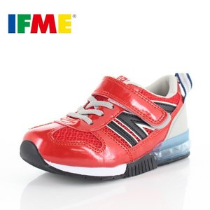 IFME イフミー 子供靴 スニーカー キッズ 30-9015 SEASON TREND RED 通園 通学 運動靴 レッド|washington