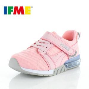 IFME イフミー 子供靴 スニーカー キッズ 30-9017 SEASON TREND PINK 通園 通学 運動靴 ピンク|washington