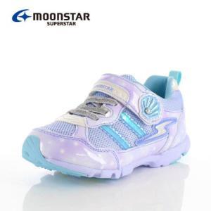 ムーンスター スーパースター バネのチカラ キッズ スニーカー MoonStar K895 SAX キッズ 2E サックス 子供靴 運動 体育|washington