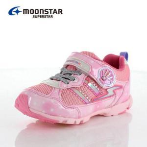 ムーンスター スーパースター バネのチカラ キッズ スニーカー MoonStar K895 PINK キッズ 2E ピンク 子供靴 運動 体育|washington