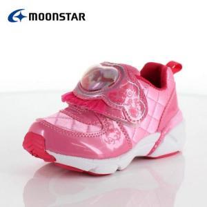 moonstar ムーンスター DN C1225 ディズニープリンセス アリエル キッズ ベビー カジュアルシューズ 子供靴 2E ピンク|washington