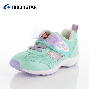 moonstar ムーンスター DN C1227 ディズニープリンセス ソフィア キッズ ベビー カジュアルシューズ 子供靴 2E ミント 水色|washington