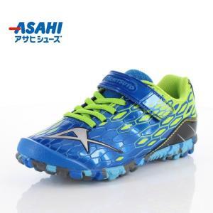 ASAHI アサヒ キッズ ジュニア スニーカー ガチ強 J022 KE74713 ブルー 子供靴 運動|washington