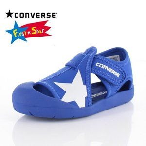 コンバース CONVERSE キッズ サンダル KID'S CVSTAR SANDAL 3CL426 BU-13476 BLUE 子供靴|washington