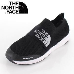 THE NORTH FACE ザ ノースフェイス 靴 NFJ51947 K Ultra Low III ウルトラロー リラックス スリッポン キッズ ジュニア 黒 ブラック|washington