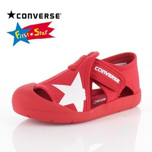 コンバース CONVERSE キッズ サンダル KID'S CVSTAR SANDAL 3CL425 RD-13472 RED 子供靴|washington