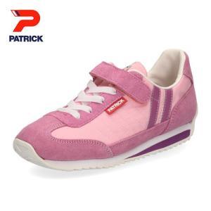 パトリック キッズ ジュニア スニーカー マラソンV PATRICK MARATHON-V EN7127-J PNK ベルクロ 靴 日本製 子供靴|washington
