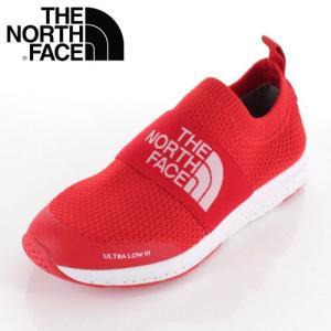 THE NORTH FACE ザ ノースフェイス 靴 NFJ51947 K Ultra Low III ウルトラロー スリッポン キッズ ジュニア 赤 レッド|washington