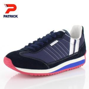 パトリック スニーカー マラソン PATRICK MARATHON B.MRN 94192 ネイビー メンズ レディース 靴 日本製 washington