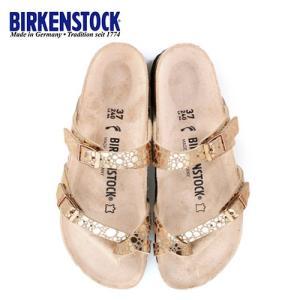 ビルケンシュトック BIRKENSTOCK マヤリ Mayari レディース メンズ 1006734 幅狭 サンダル 靴 メタリックストーンズ カッパー 国内正規品|washington