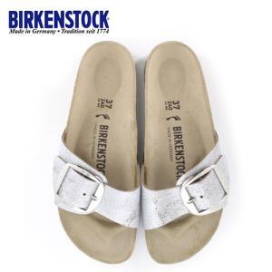 ビルケンシュトック BIRKENSTOCK マドリッド ビッグバックル Madrid レディース メンズ 1012886 幅狭 サンダル 靴 シルバー 国内正規品|washington