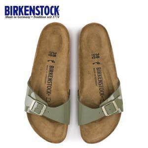 ビルケンシュトック BIRKENSTOCK マドリッド Madrid BS レディース メンズ 1013078 幅狭 サンダル 靴 カーキ 国内正規品|washington