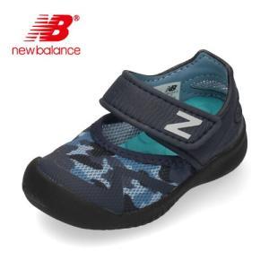 new balance ニューバランス IO208 CGR BLACK CAMO キッズ ベビー サンダル ブラック 子供靴 水遊び|washington