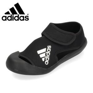 アディダス adidas キッズ サンダル AltaVenture C アルタベンチャー D97902 ブラック 子供用|washington