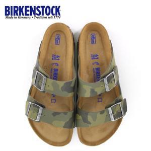ビルケンシュトック BIRKENSTOCK アリゾナ Arizona BS メンズ 1013013 幅広 サンダル カモフラージュ グリーン 国内正規品 セール|washington