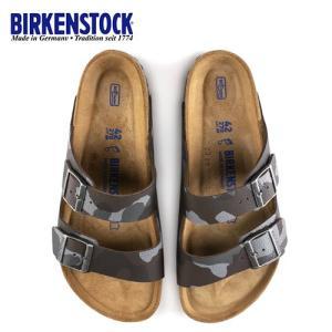 ビルケンシュトック BIRKENSTOCK アリゾナ Arizona BS メンズ 1013015 幅広 サンダル カモフラージュ ブラウン 国内正規品|washington