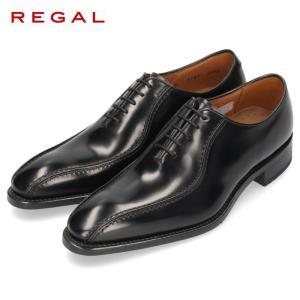 リーガル REGAL 靴 メンズ ビジネスシューズ 318RBD ブラック スワールトゥ 内羽根式 ...